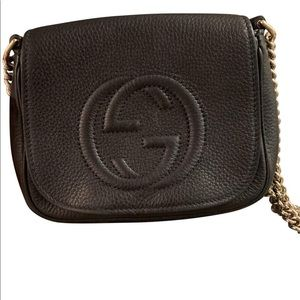 Black crossbody Gucci